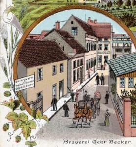 alte Postkarte um 1895