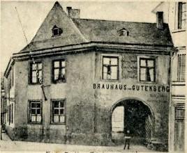 Mainzer Brauerei Brauhaus zum Gutenberg