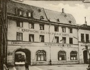 alte Postkarte um 1900