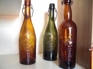 Flaschen Keulenform