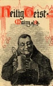 Mönch im Heiligen Geist