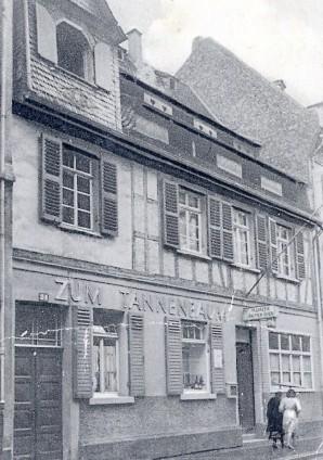 Gaststätte Tannenbaum.Mainzer Brauerei Brauhaus Zum Tannenbaum Bier In Mainz