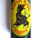 Brauerei zum schwarzen Bären Motiv Siebdruck