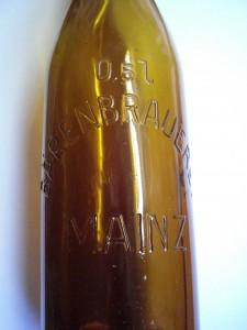 Schriftflasche