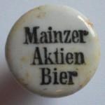 Porzellanverschluß Mainzer Aktien Bier
