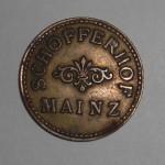 Biermünze Schöfferhof Mainz