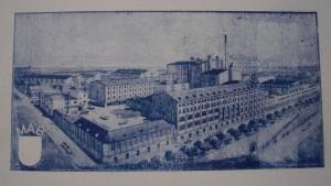 Probe Druckplatte Mainzer Aktien Bier Brauerei