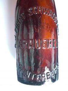 deutsche Prägung Schwarzenberg Brauerei Winterberg Vimperg