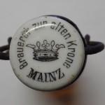 Porzellankopf Brauerei zur alten Krone Mainz