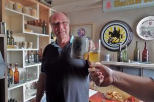 Probe Reisbier Rheinische Brauerei 2