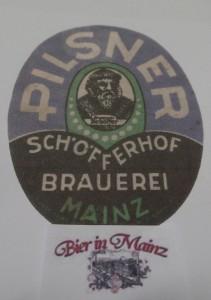 Etikett Schöfferhof Pilsner